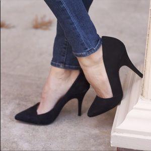Madewell The Mira Black stilettos